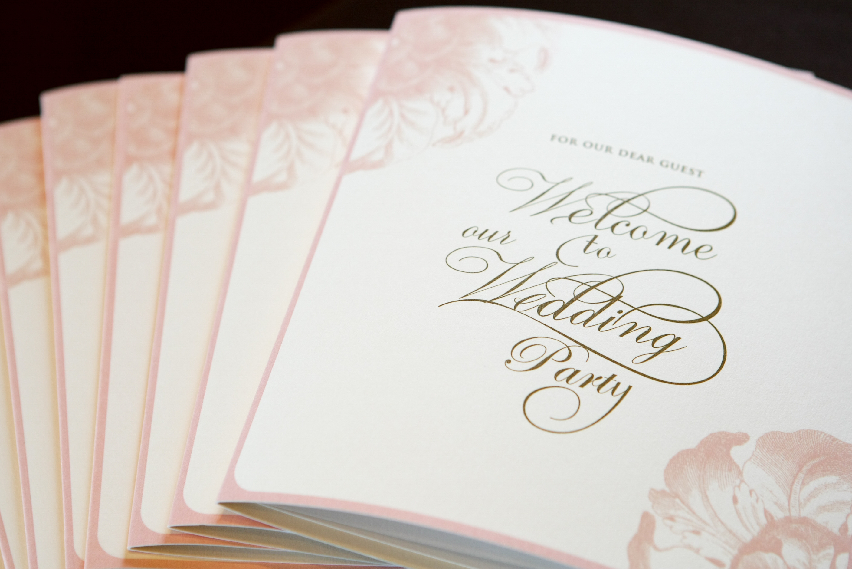 weddingreception card