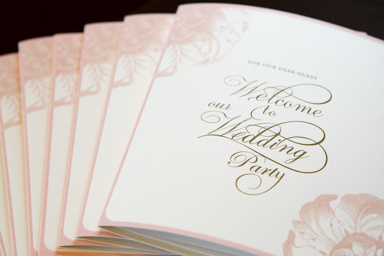weddingreception card